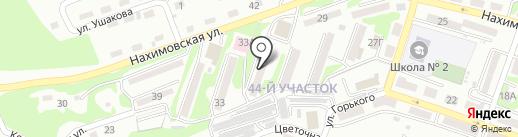 Детская библиотека №15 на карте Находки