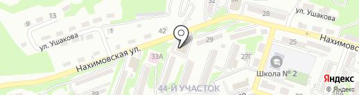 Тренажерный зал на Нахимовской на карте Находки