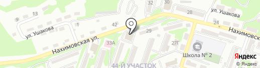 Салюс на карте Находки