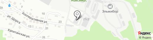 На Ореховой на карте Находки