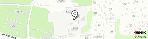 Бриг на карте Находки