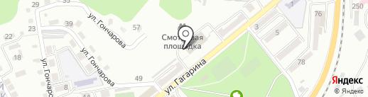 СТЕРХ на карте Находки