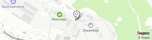 ЛЕКС-АВТО на карте Находки