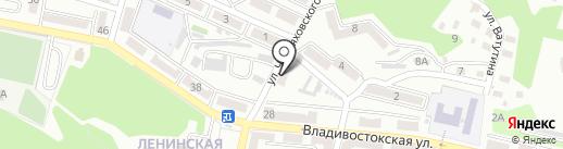 ДВ СКТБ на карте Находки