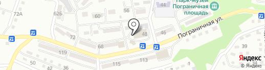 Бочка на карте Находки