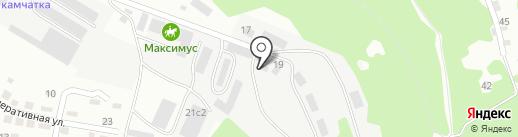 Компания грузоперевозок на карте Находки