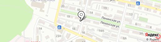 Рубин на карте Находки
