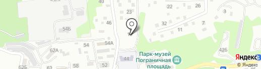 Находка Лимо на карте Находки