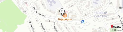 Моя шкода на карте Находки