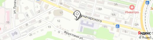 МОУ на карте Находки