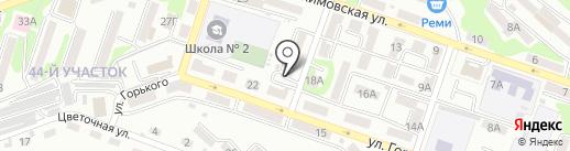 Провинция на карте Находки