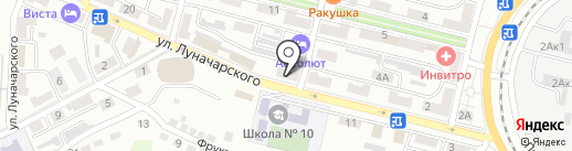 Инспекция по делам несовершеннолетних в г. Находке на карте Находки