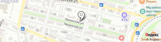 Росбанк, ПАО на карте Находки