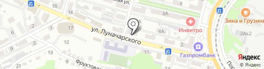 Юнона на карте Находки
