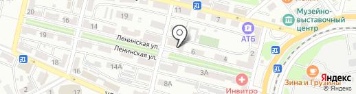 Ракушка на карте Находки