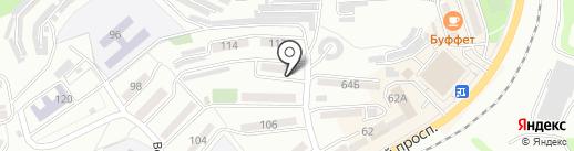 Бермуды на карте Находки