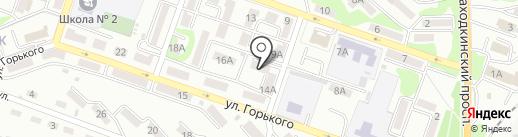 Оджес на карте Находки
