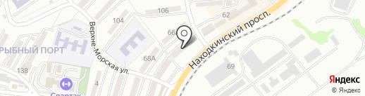 Новая Аптека на карте Находки