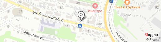 Беркут-Находка на карте Находки