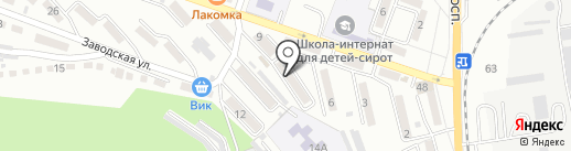 Кубик на карте Находки
