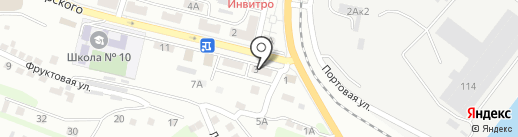 Торговая компания на карте Находки