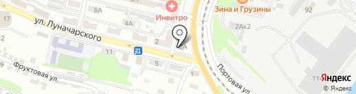 Центр на карте Находки
