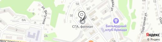 Есфирь на карте Находки