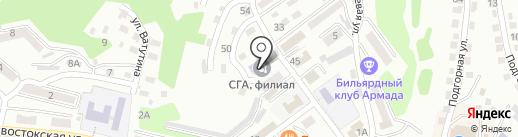 Выпускник на карте Находки