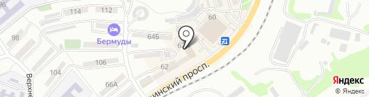 ПрофильПром-ДВ на карте Находки