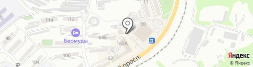 Ориент-стиль на карте Находки
