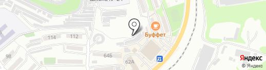NHK-DIP на карте Находки