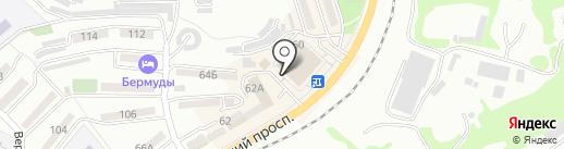 Фрау МОДА на карте Находки