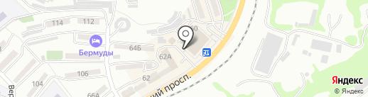 Академия мебели+ на карте Находки