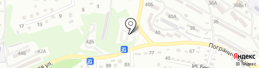 Газель на карте Находки