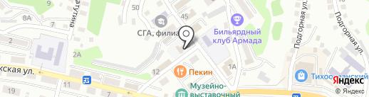 ЛиСа на карте Находки