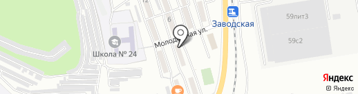 Гостиница на карте Находки