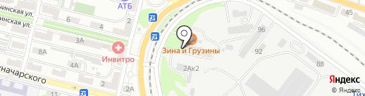 Интерклимат на карте Находки