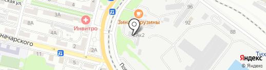 Фри Стайл на карте Находки