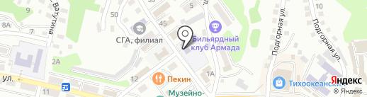 Детский сад №12 на карте Находки