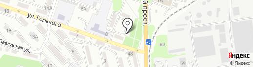 Почтовое отделение №13 на карте Находки