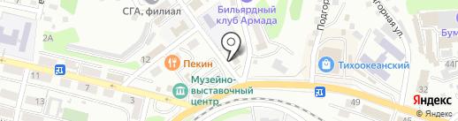 Компания юридических услуг на карте Находки
