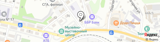 КиТ на карте Находки