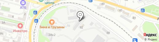 ПТС на карте Находки