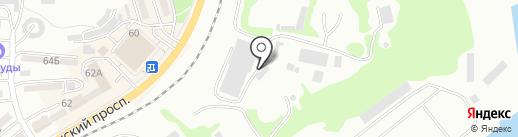 Аварийно-спасательное подразделение порт Находка на карте Находки