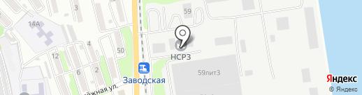 Банкомат, Дальневосточный банк Сбербанка России на карте Находки