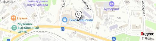 Морской государственный университет им. адмирала Г.И. Невельского на карте Находки