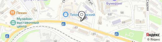 Лада на карте Находки