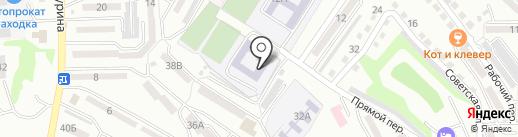 Средняя общеобразовательная школа №9 на карте Находки