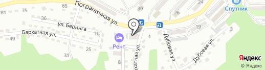 Находкинский линейный отдел МВД Российской Федерации на транспорте на карте Находки