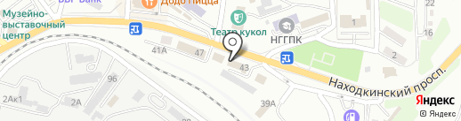 Почта Банк, ПАО на карте Находки